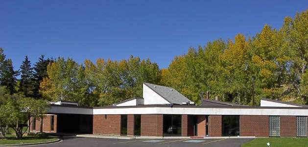 Exterior View of Calgary Crematorium